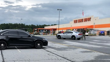 Officer shoots suspected shoplifter at Home Depot in Riverdale, authorities say