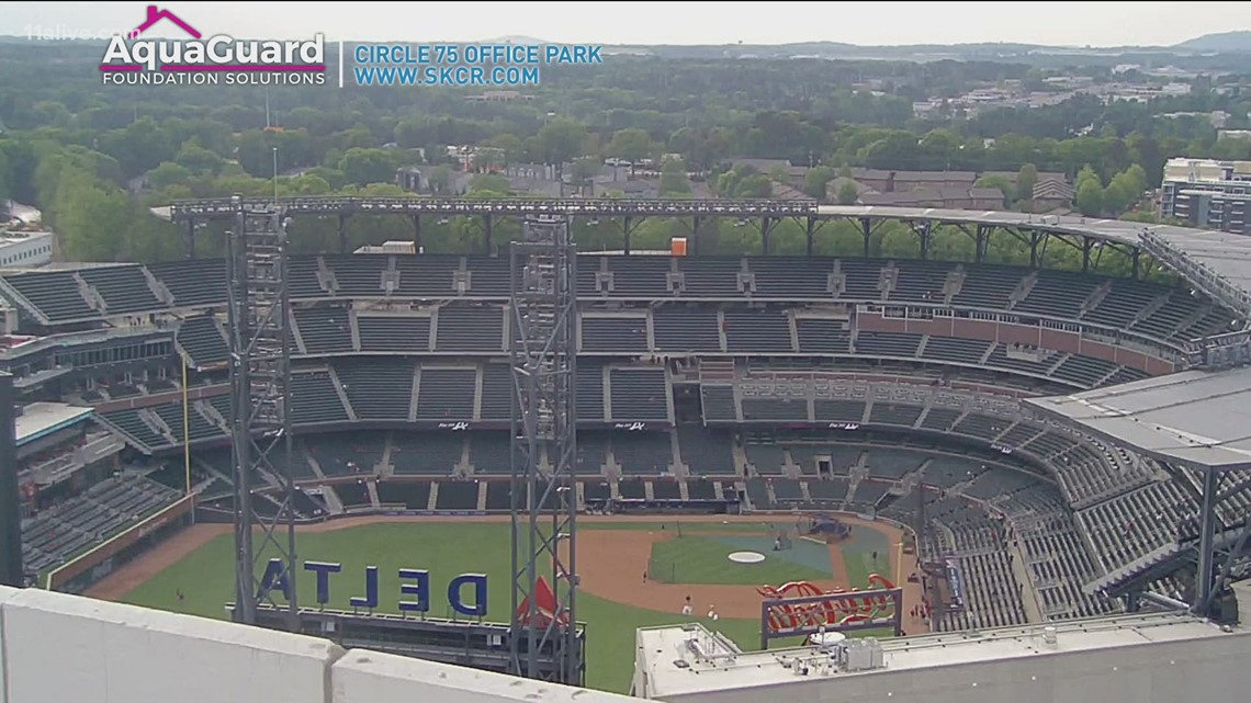 Braves to play Diamondbacks at Truist Park with more fans watching