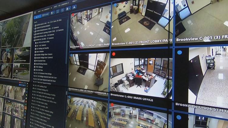 School security Fulton County Surveillance video