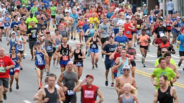 Here's what you missed at the 50th running of the AJC Peachtree Road Race!