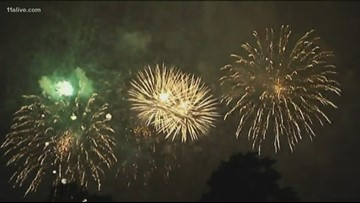 A warning on fireworks safety ahead of the 4th of July