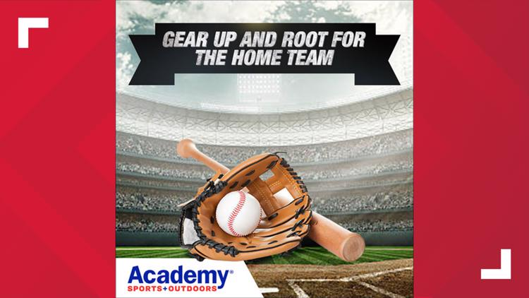 Home Run Sweepstakes with Academy Sports + Outdoors