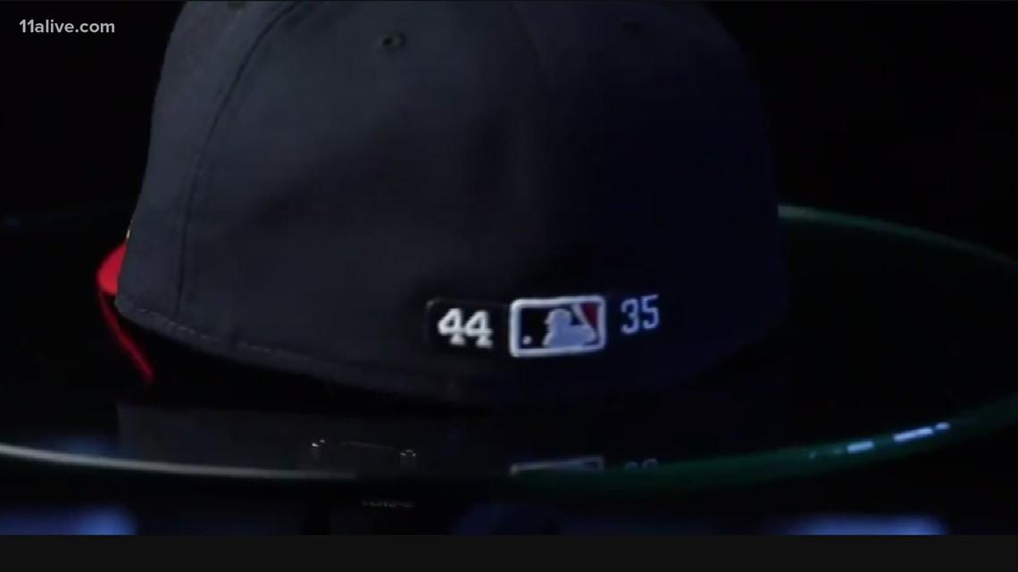 44 and 35   Honoring Braves legends Hank Aaron and Phil Niekro