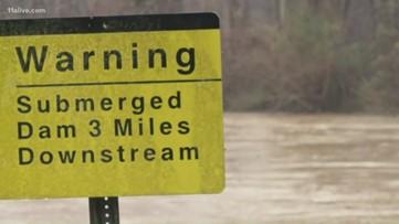 Rain impacting Lake Allatoona levels