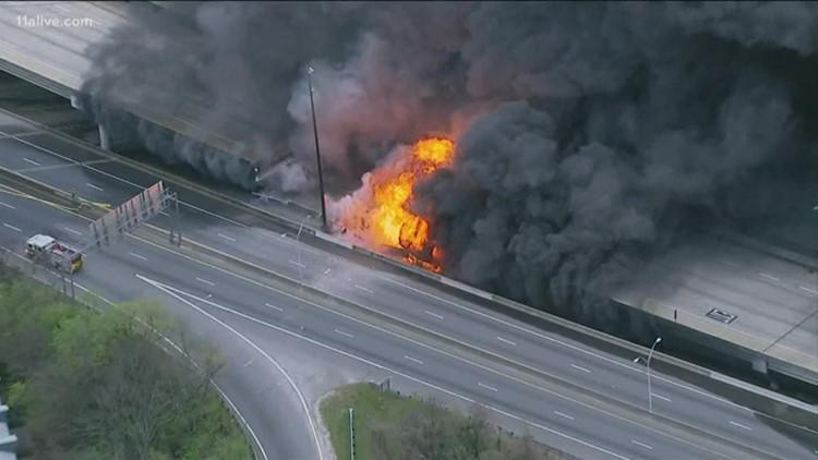 Two years ago, a massive fire caused the Atlanta I-85 bridge collapse