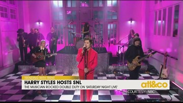 Harry Styles hosts SNL