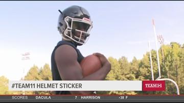 Team 11 Helmet Sticker: Arik Gilbert named a National Gatorade Player of the Year
