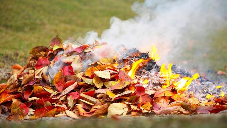 Dunwoody Police warn against burning leaves, sticks