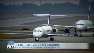 Delta beats 2019 expectations