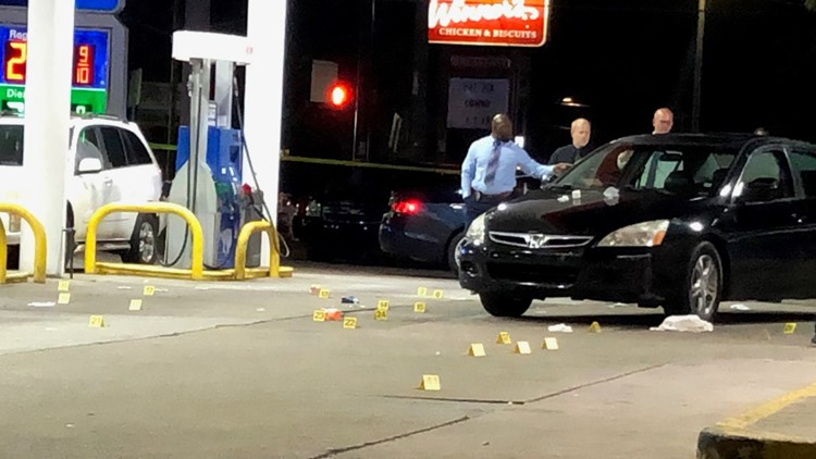 50 shots fired leaving 2 dead, 2 hurt at DeKalb gas station, police say