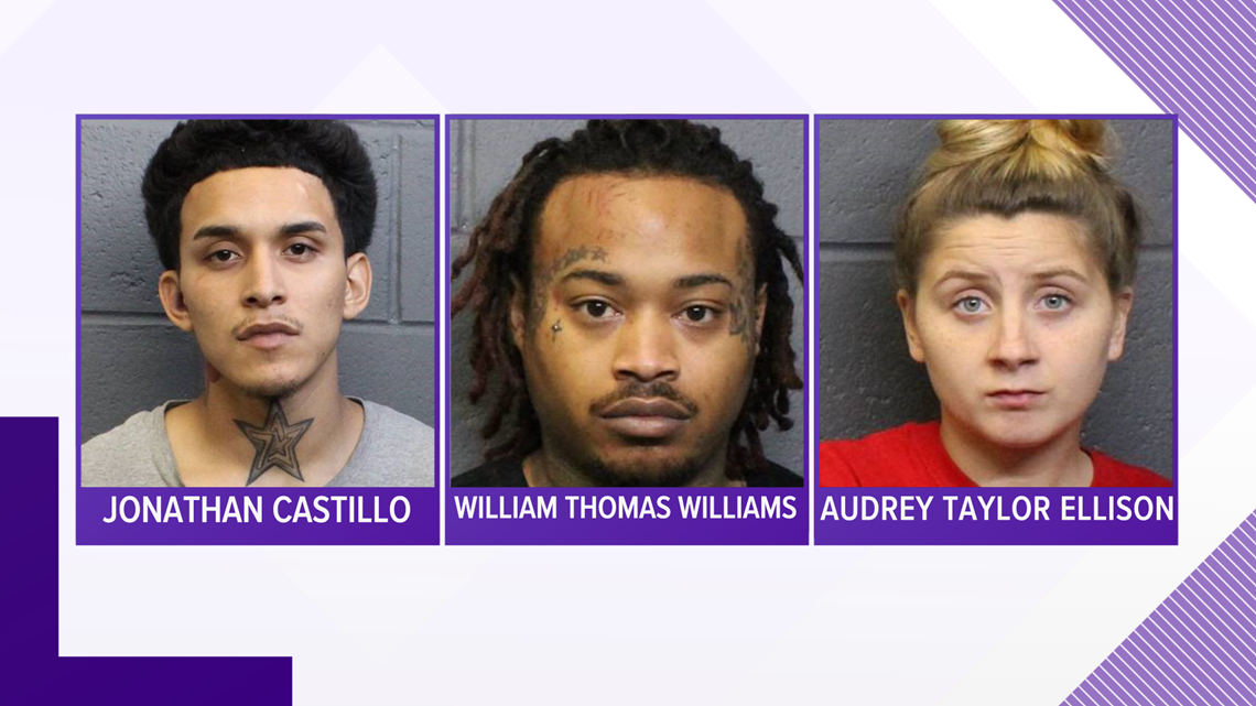 Three suspects arrested after leading police on manhunt in Forsyth County