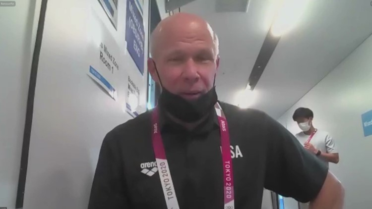 Olympics   UGA coach gives emotional reaction to students getting first medals in Tokyo