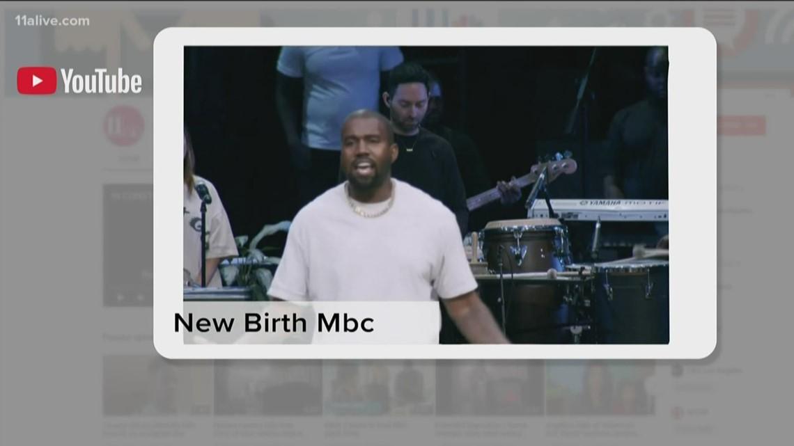 Kanye West holds 'Sunday Service' at metro Atlanta megachurch