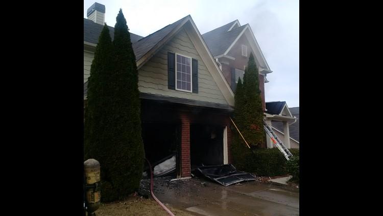 Suwanee House Fire