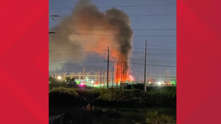 Georgia Power says fire was due to transformer blaze at Smyrna plant