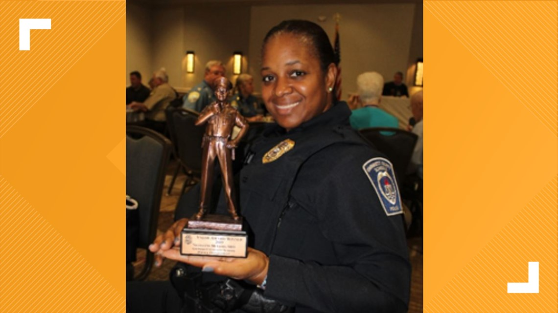 School resource officer who stopped knife attack named Georgia's peace officer of the year