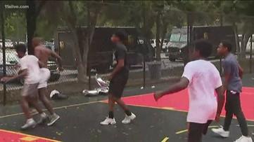 Hawks reveal 25 renovated basketball courts in metro Atlanta