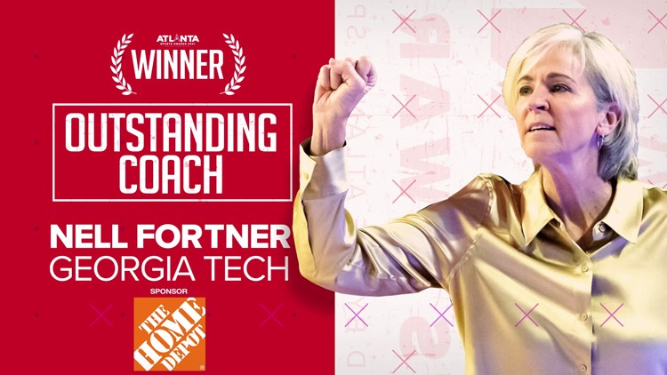 Georgia Tech coach Nell Fortner is the 2021 Atlanta Sports Awards Most Outstanding Coach