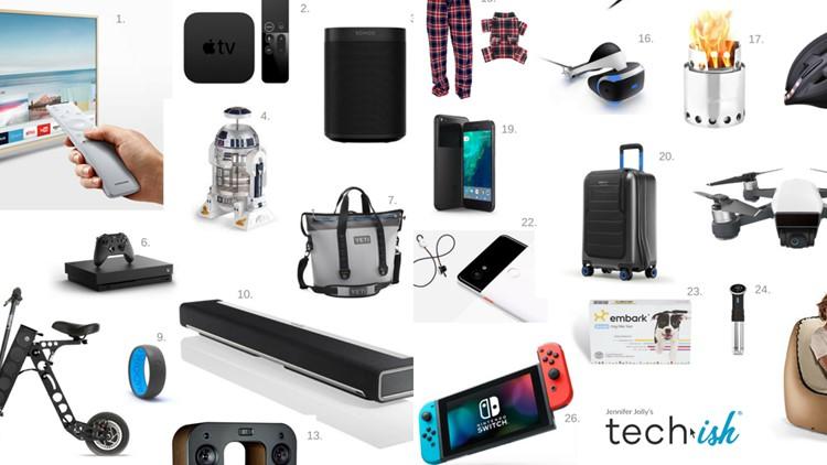 Get Jennifer Jolly's top sports gadgets on 'Atlanta Tech Edge.'