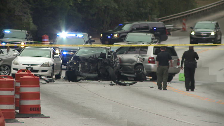 Police car, fire truck involved in separate wrecks; chase ends in 3rd crash in DeKalb on Friday