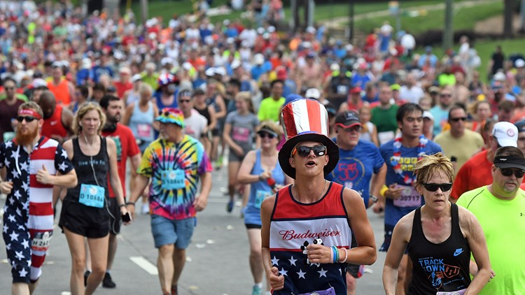 Here's how you can design the 2020 AJC Peachtree Road Race t-shirt