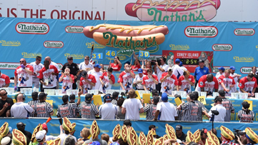 Here's your chance to eat your way to Nathan's Famous Hot Dog-Eating Contest