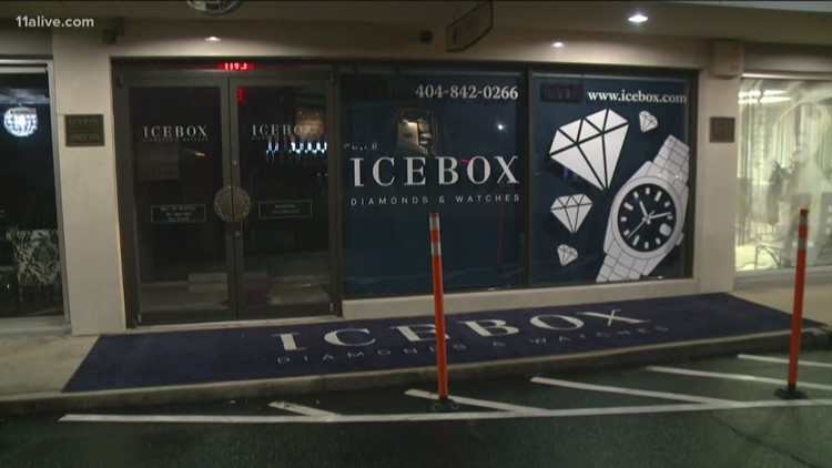 Thieves still not caught after robbing popular Buckhead jewelry store