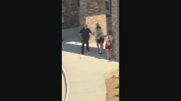 Video shows student kick assistant principal in the groin amid alleged alcohol-fueled tantrum