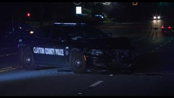 Clayton County officer involved in crash