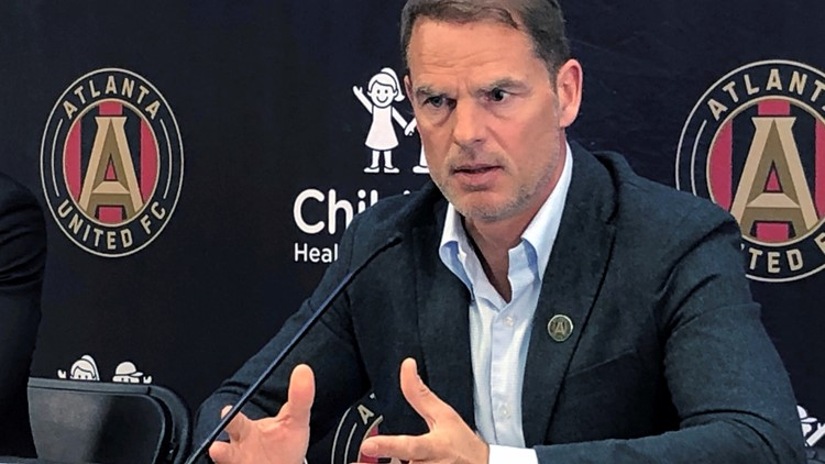Frank de Boer steps away from Atlanta United in 'mutual agreement' to part ways