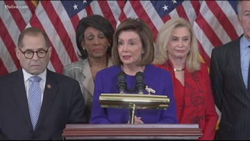 House Democrats unveil two articles of impeachment | Here's what social media is saying