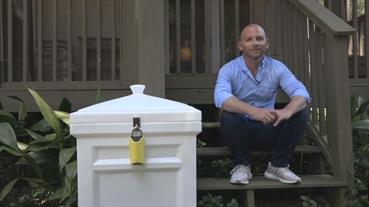 Brad Ruffkess and his BoxLock