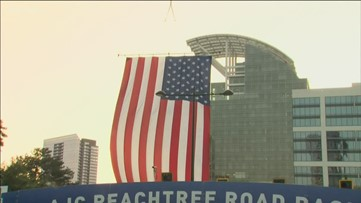 How the AJC Peachtree Road Race transforms Lenox Square