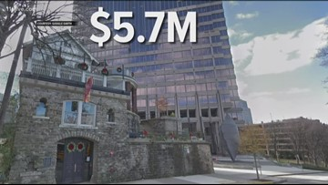 Midtown Atlanta's 'Castle' up for sale