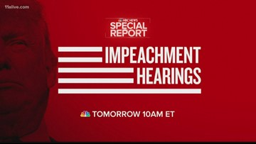 Washington braces for impeachment hearings