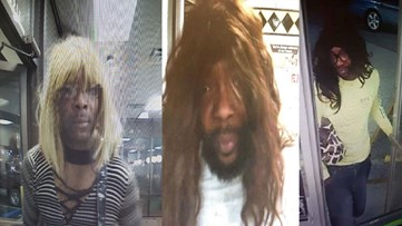 Wig-wearing suspect accused of Waffle House robbery