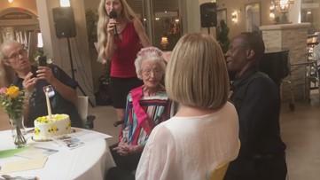 Original Delta flight attendant celebrates 103rd birthday