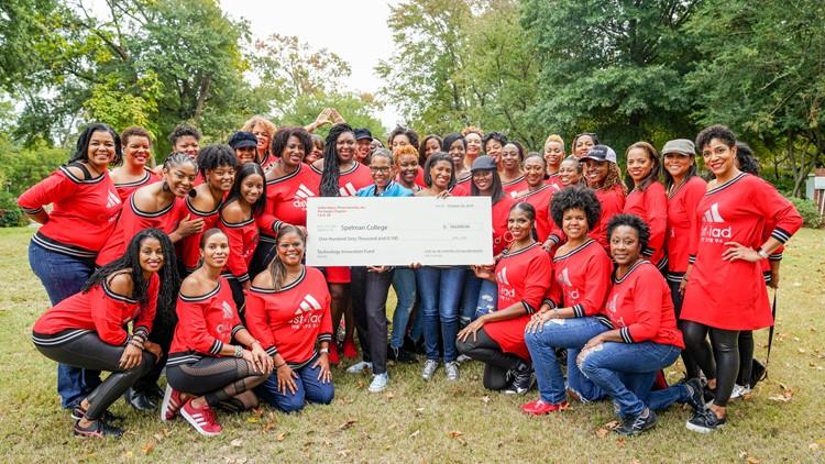 Delta Sigma Theta Spelman donation