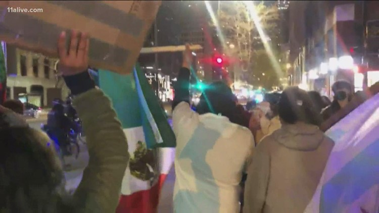 Protests in Chicago following police killing of 13-year-old