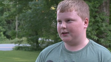Child rescues friend from near drowning in swimming pool