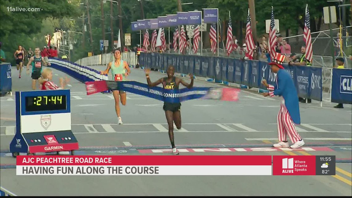Highlights from the AJC Peachtree Road Race