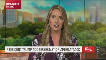 11Alive News reaction and analysis after Trump's response to Iran attacks
