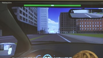 No car, no problem. Teens learning to drive with a video game.