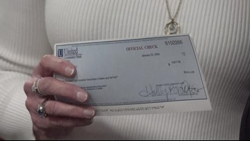 Forsyth County Sheriff gives out thousands of dollars
