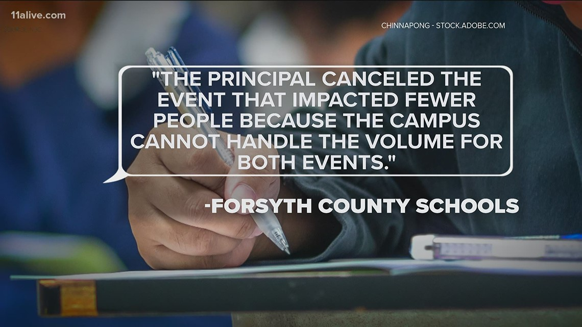 Parents, students frustrated after finding out SAT canceled due to scheduling conflict
