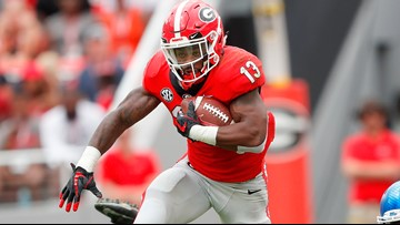 UGA Pro Day: Elijah Holyfield struggles again in the 40-yard dash