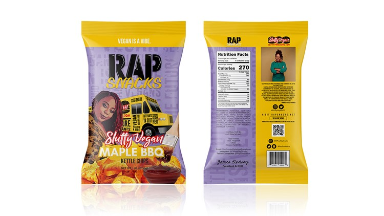 Slutty Vegan owner dishes on Rap Snacks potato chip, weather-proofing business during pandemic