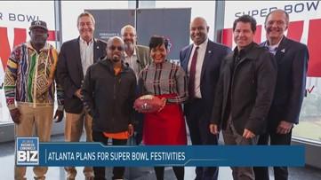 Atlanta plans for Super Bowl festivities