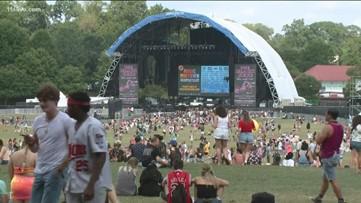 Music Midtown: Weather isn't dampening spirits