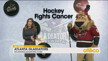 Cheer on your Atlanta Gladiators!